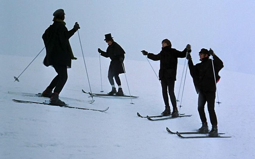 Beatles on Skis