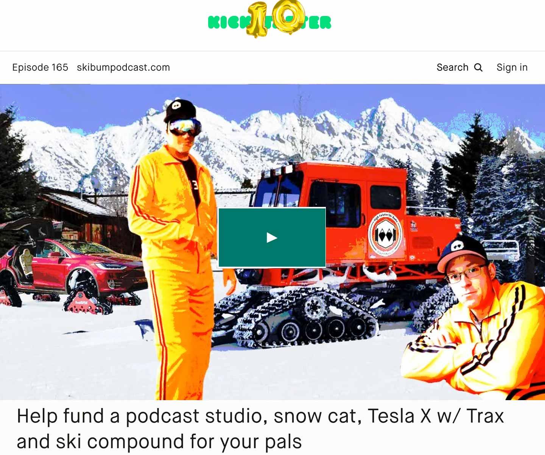 Podcast #165 – Kickstarter