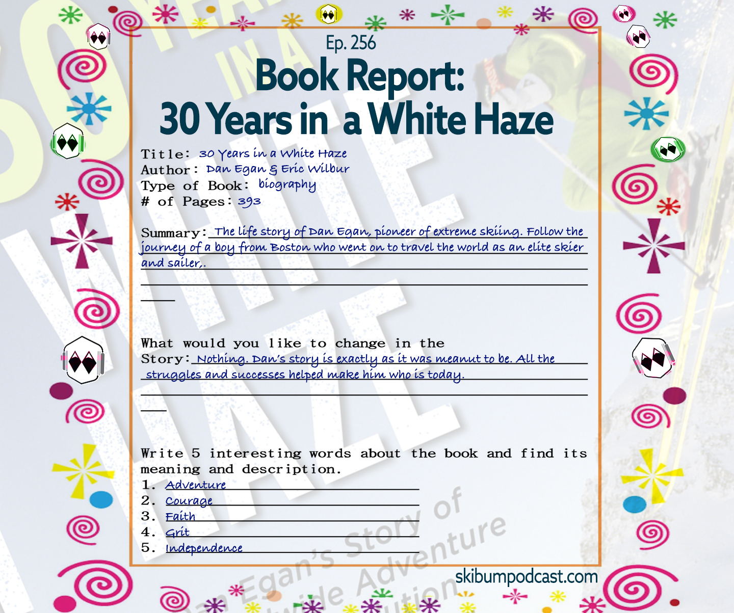 Podcast #256 – Book Report: 30 Years in a White Haze